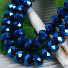 Wholesale 100pcs dark blue Swarovski Crystal Loose Beads 4x6mm