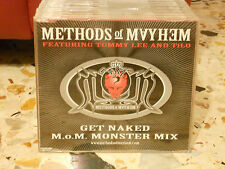 METHODOS OF MAYHEM feat. TOMMY LEE and TILO - GET NAKED cd slim case PROMO