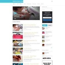 Cucito shop-business online sito web per la vendita + Dominio + Hosting + Amazon