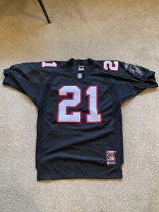 NWT Reebok 2001 Helmet Tag Deion Sanders Atlanta Falcons NFL Jersey ~ Size 46