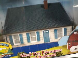 HO IMEX Model Co. Resin Pre-Built Building No.6113. Perma Scene 1/87 Scale. NIB