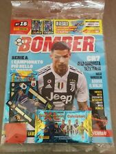 BOMBER 16 RIVISTA PANINI LIMITED CARDS CALCIATORI ADRENALYN xl  2018 19