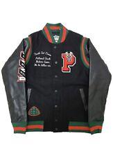 Men's Parish Nation X Milwaukee Bucks Collab Varsity Jacket NWT 2XL $198