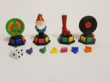 Trivial Pursuit Totally 80's Replacement game tokens pawns pie pieces movers
