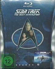 Star Trek Next Generation Season 5 Blu-Ray Neu OVP Sealed Deutsche Ausgabe