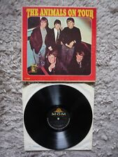 The Animals On Tour Vinyl Orig 1964 MGM Mono Canadian Import LP Eric Burdon