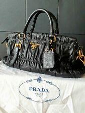 Prada Tasche Leder schwarz