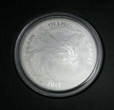 Official London 2012 UK Pegasus 5oz Silver 0.999 Coin - Denomination £10