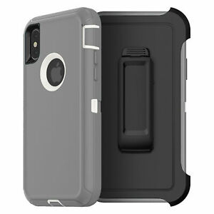 For Apple iPhone XR Xs Max Case Cover Shockproof Series Fits Defender Belt Clip