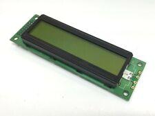 Densitron LC4261BG LCD Display Panel Transflective LED Backlit Alphanumeric 2x20