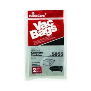 Kenmore Vacuum Bags 5055 2 Pack by HomeCare Industries