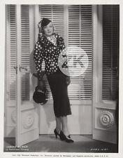 MARLENE DIETRICH Mode FASHION Elégance Berlin Hollywood Paramount Photo 1935