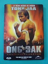 Ong-Bak: The Thai Warrior (DVD*Steel Book Case Cover) [STEELBOOK]  FAST SHIPPING