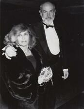 Sean Connery &wife 16th Annual American Film Dated: 3/10/88 & captioned back 7x9