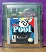 Pro Pool Billiards -  Game Boy Color GB Rare TESTED GBA Advance GBC