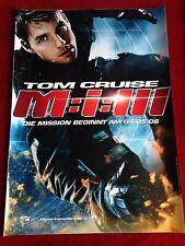 Mission Impossible 3 Kinoplakat Filmplakat A1 M:I:3 Tom Cruise
