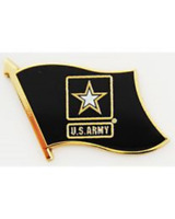 US ARMY Flag Pin 15/16 inch