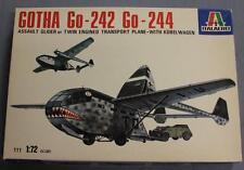 Italaerei 111 Gotha Go-242/Go-244 Plastic Model Kit Lnib 1/72 Scale