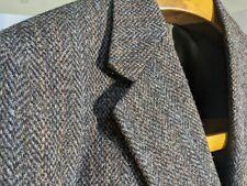 Hackett Harris Tweed Jacket Blazer Green 40R AMAZING QUALITY GARMENT