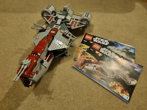 Lego Star Wars 7964 Republic Frigate with Instructions (no minifigures) Ex Cond.