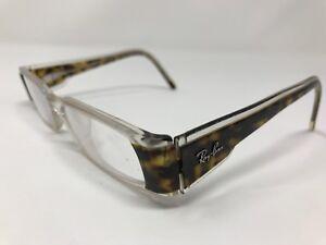 Ray Ban Eyeglasses Frames RB5099 2192 Clear Tortoise 50-17-135mm Full Rim F368