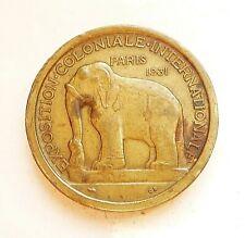 médaille  ASIE 1931 par MORLON