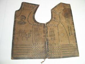 Antique Dress Makers Guide Pattern 1895 J.B. Plant Biddeford ME