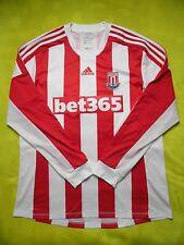 4.8/5 Stoke City FORMOTION 2012/2013 HOME ADIDAS ORIGINAL JERSEY SHIRT