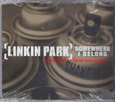 LINKIN PARK Somewhere I Belong CD w LIVE TRKS CHESTER BENNINGTON FORT MINOR