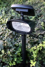 2-Pack Outdoor Garden 4-LED Solar Spot Flood Landscape Light 70 LUMEN (PL40L)