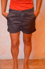 joli short gris femme  ED HARDY taille W26 (36) ** TOUT NEUF **