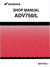 Honda X ADV Workshop manual (PDF) - ENGLISH