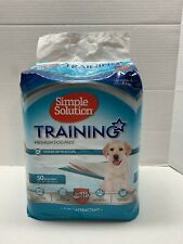 Simple Solution Training Puppy Pads | 6 Layer Dog Pee Pads, Absorbent Leak Pr...