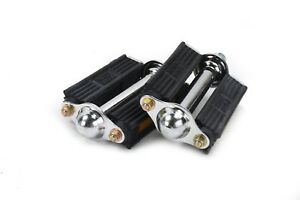 MKS 3000R - Retro Traditional Rubber Dutch Style Bicycle Pedals with Reflectors
