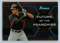 CHRISTIAN YELICH 2013 Bowman Chrome Baseball Future of the Franchise Rookie Card