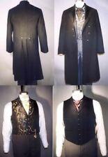 Men's Victorian Frock Coat Vest Steampunk Laughing Moon Costume Pattern 109
