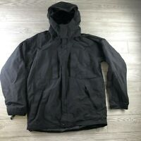 Eddie Bauer WeatherEdge Protection Weatherproof Jacket Women's Size Medium Black
