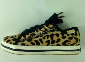 Keds Girls Kate Spade New York Kickstart Sneakers Brown KL161442 Lace Up 7 M New