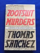 ZOOT-SUIT MURDERS - FIRST EDITION SIGNED BY THOMAS SANCHEZ