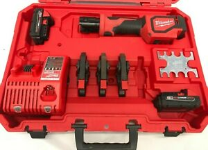 MILWAUKEE 2674-22C M18™ 18V Short Throw Press Tool Kit, VG