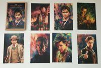 Doctor Who 7 postcard set Alice zhang artwork