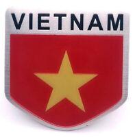 Aufkleber Vietnam Auf Kleber Wappen Sticker 3D Metall selbstklebend Wappen Auto