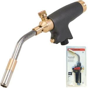Dickie Dyer Gas Plumbing Blow Torch Soldering Mapp Propane Gas Piezo Ignition