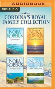 Nora Roberts Cordina's Royal Family Collection 4 Unabridged MP3 Appx 31 hrs