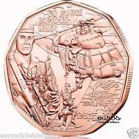 """Pièce 5 euros commémorative AUTRICHE 2015 """"Forces Armées Autrichiennes"""" - UNC"""