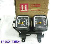 Suzuki TS125 Speedometer & Tachometer Assy NOS TACHO SPEEDO GAUGE 34100-48504