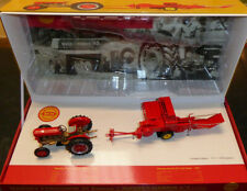 Universal Hobbies Massey Ferguson 35 Deluxe With No3 Trail Baler LIMITED EDITION