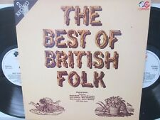 The Best Of British Folk 2-LP 1982 (Humblebums/Decameron/Pentangle/Gryphon) EX*