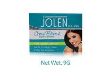 5 X Jolen Creme Bleach Lightens Dark Facial Hair Cream Improves Skin Fairness 9g