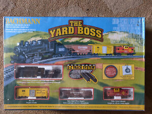 Bachmann: The Yard Boss; Electric E-Z Track System set